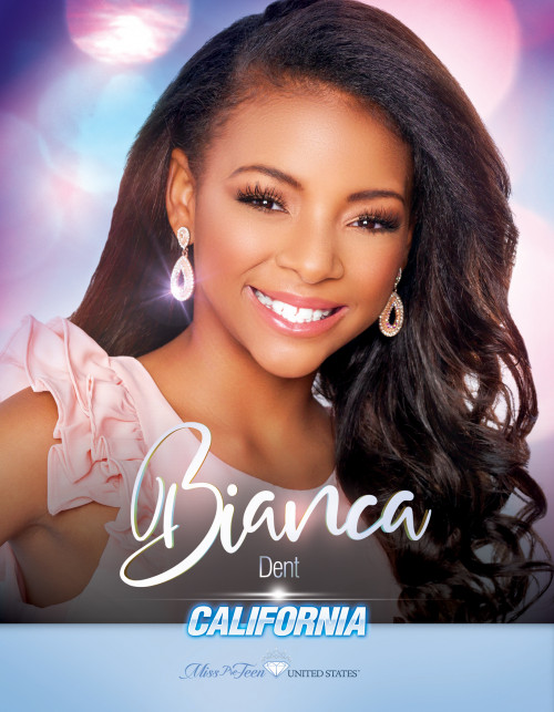 Bianca Dent Miss Pre-Teen California United States - 2019