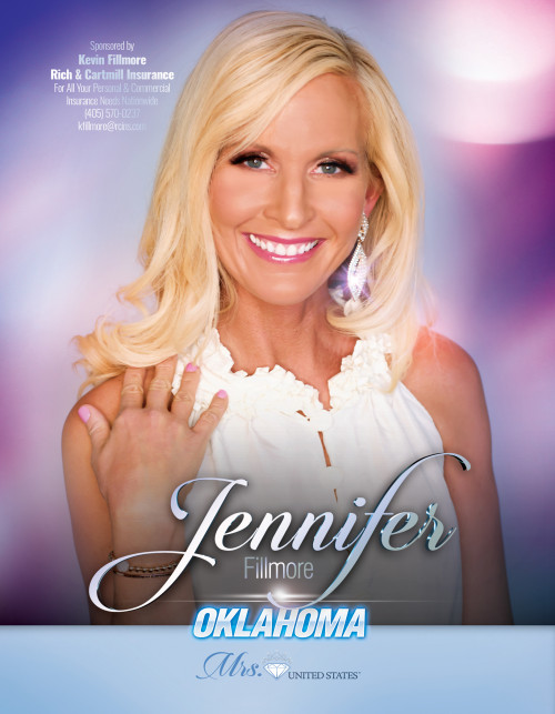 Jennifer Fillmore Mrs. Oklahoma United States - 2019