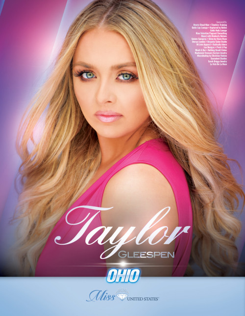 Taylor Gleespen Miss Ohio United States - 2019