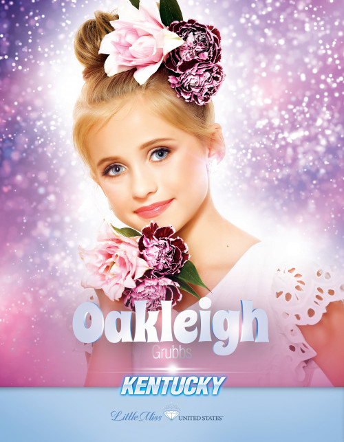 Oakleigh Grubbs Little Miss Kentucky United States - 2019