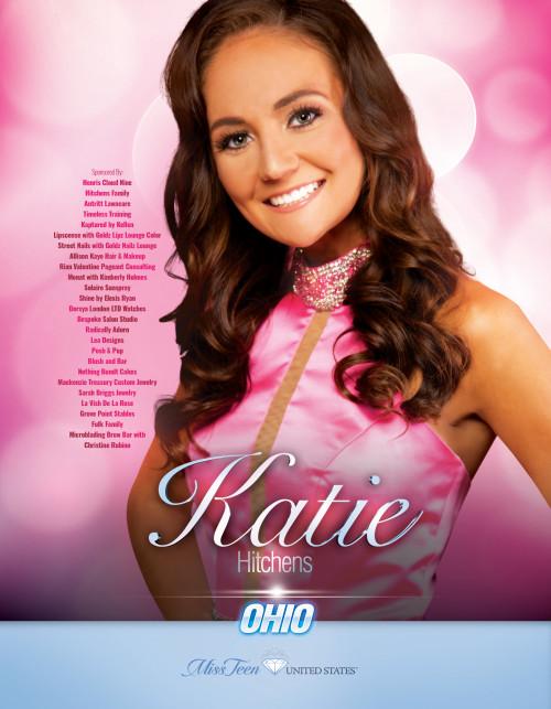 Katie Hitchens Miss Teen Ohio United States - 2019