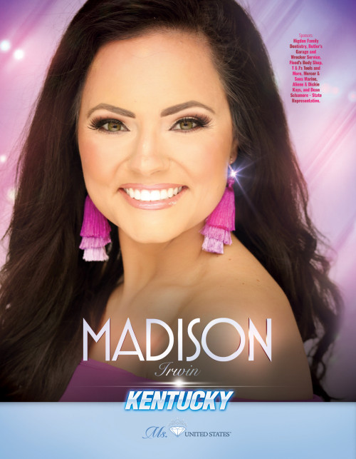 Madison Irwin Ms. Kentucky United States - 2019