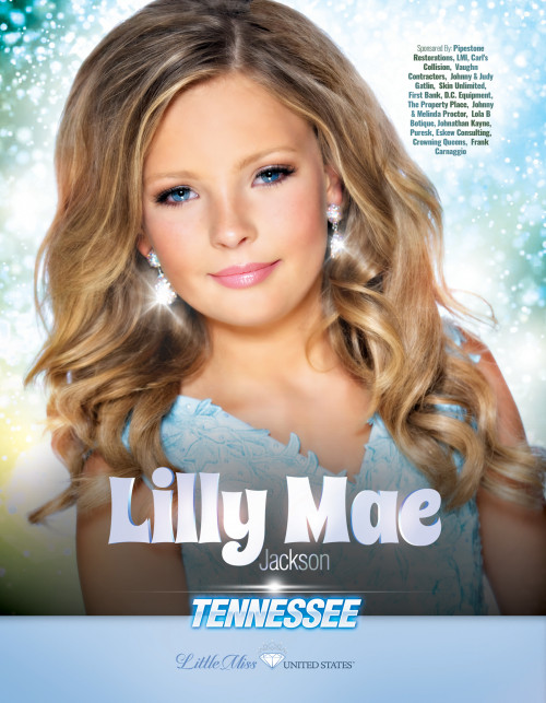 Lilly Mae Jackson Little Miss Tennessee United States - 2019