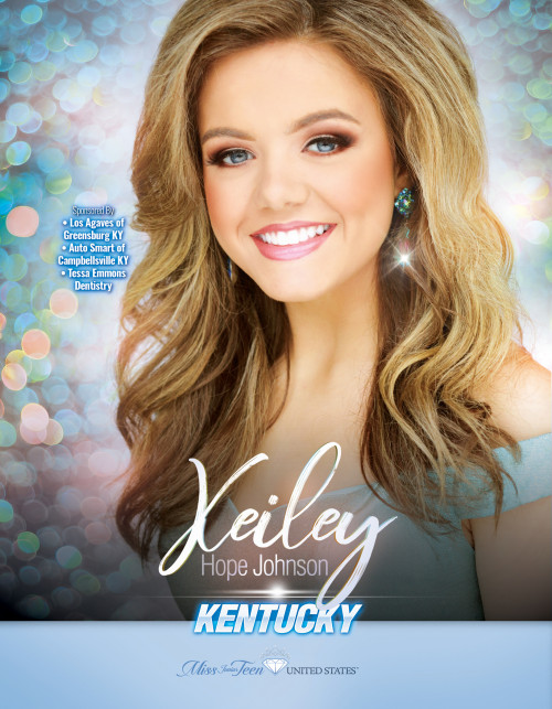 Keiley Johnson Miss Junior Teen Kentucky United States - 2019