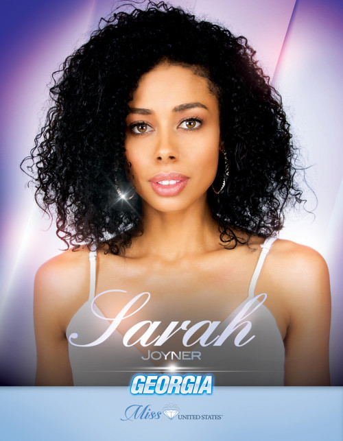 Sarah Joyner Miss Georgia United States - 2019