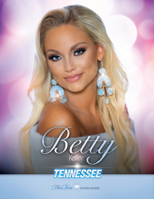 Betty Kelley Miss Teen Tennessee United States - 2019