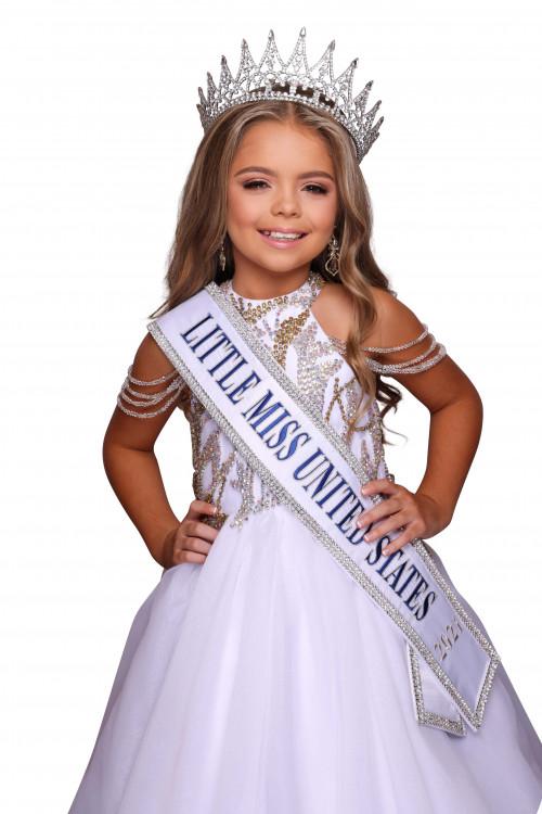 Ryleigh Pollard Little Miss United States - 2021
