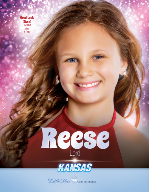 Reese Lord Little Miss Kansas United States - 2019