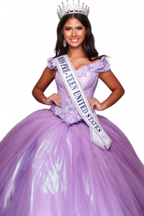 Malaya Rogers Miss Pre-Teen United States - 2021