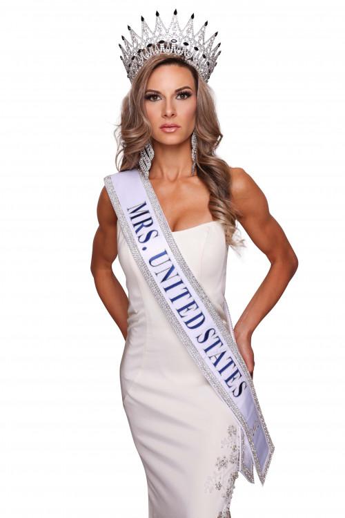 Brea Estep Mrs. United States - 2021