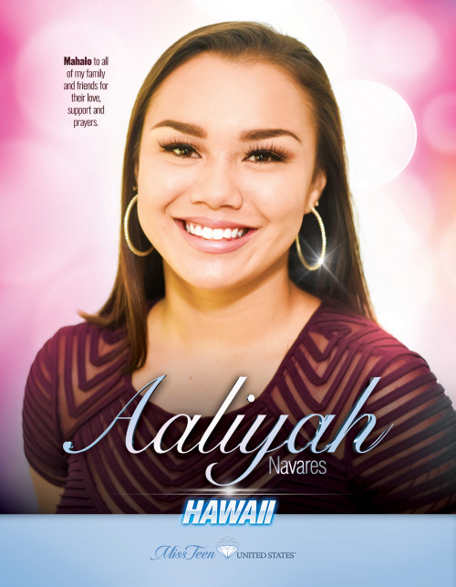 Aaliyah Navares Miss Teen Hawaii United States - 2019