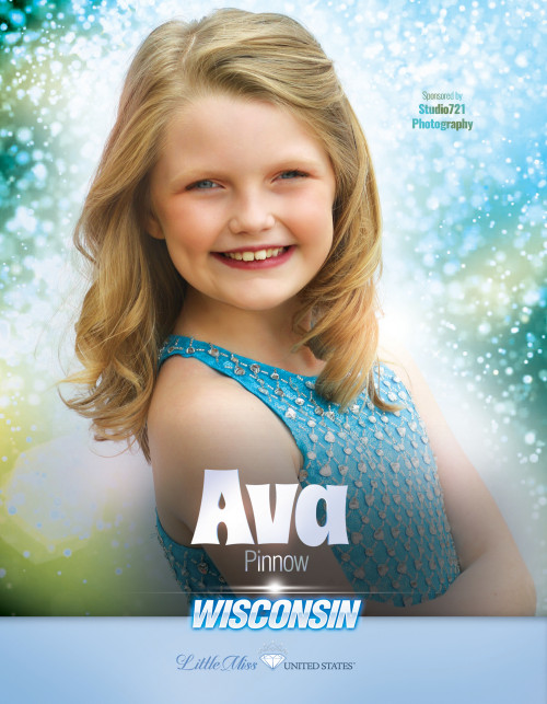 Ava Pinnow Little Miss Wisconsin United States - 2019