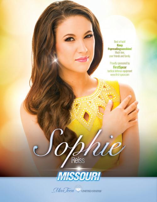 Sophie Reiss Miss Teen Missouri United States - 2019