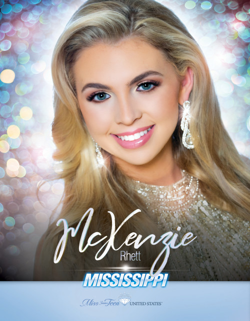 McKenzie Rhett Miss Junior Teen Mississippi United States - 2019