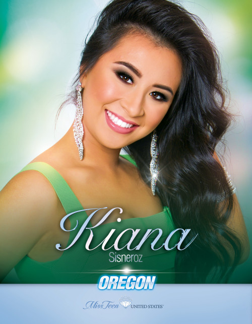 Kiana Sisneroz Miss Teen Oregon United States - 2019