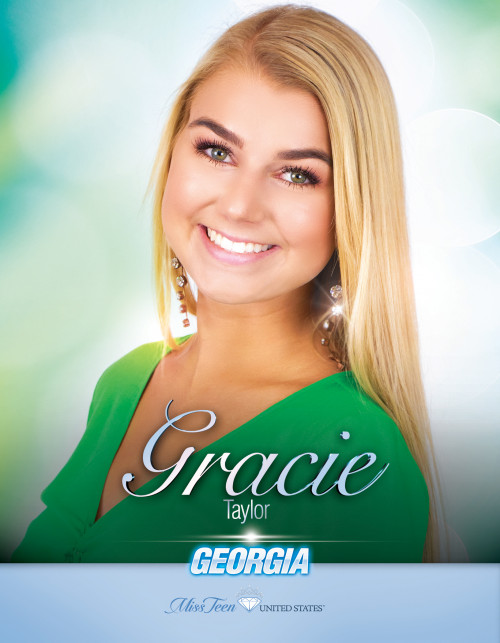 Gracie Taylor Miss Teen Georgia United States - 2019