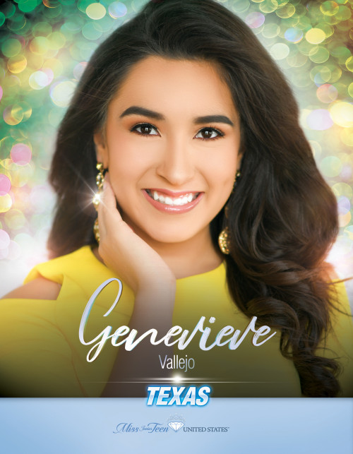 Genevieve Vallejo Miss Junior Teen Texas United States - 2019