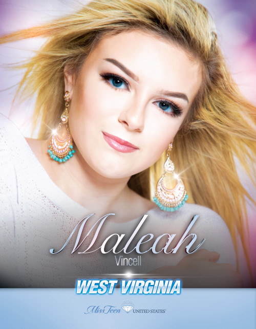 Maleah Vincell Miss Teen West Virginia United States - 2019