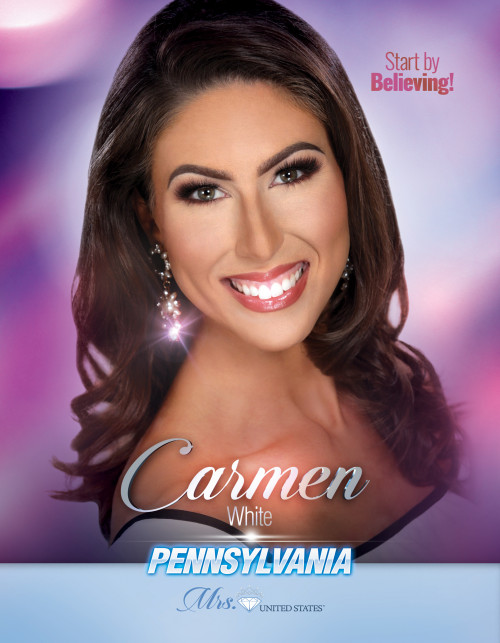 Carmen White Mrs. Pennsylvania United States - 2019