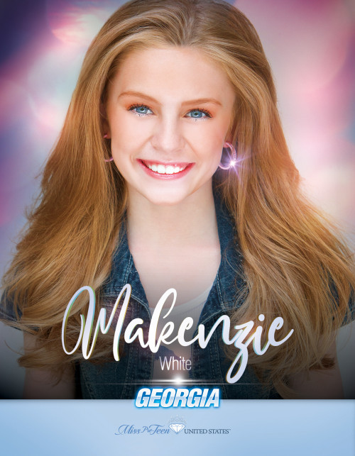 Makenzie White Miss Pre-Teen Georgia United States - 2019