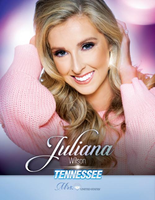 Juliana Wilson Mrs. Tennessee United States - 2019