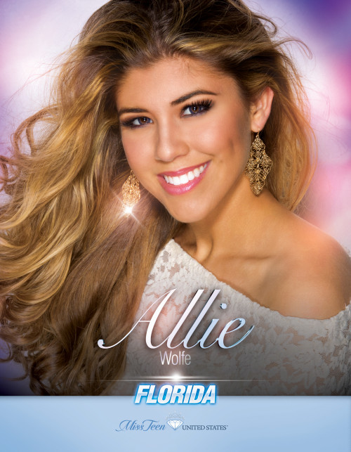 Allie Wolfe Miss Teen Florida United States - 2019