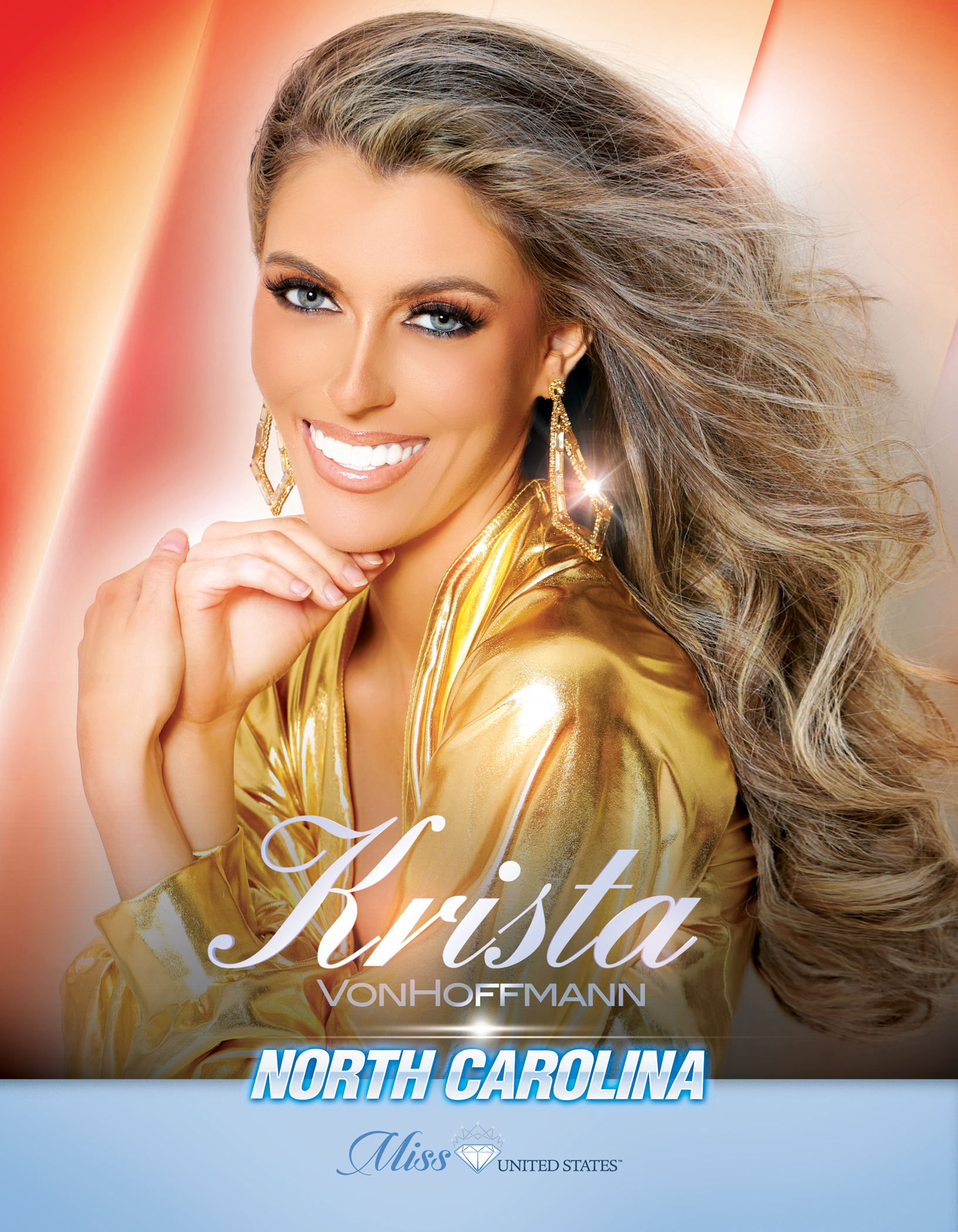 Krista VonHoffmann Miss North Carolina United States - 2019
