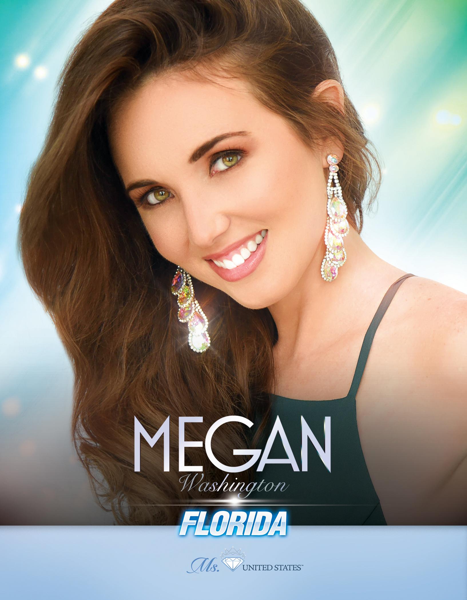 Megan Washington Ms. Florida United States - 2019
