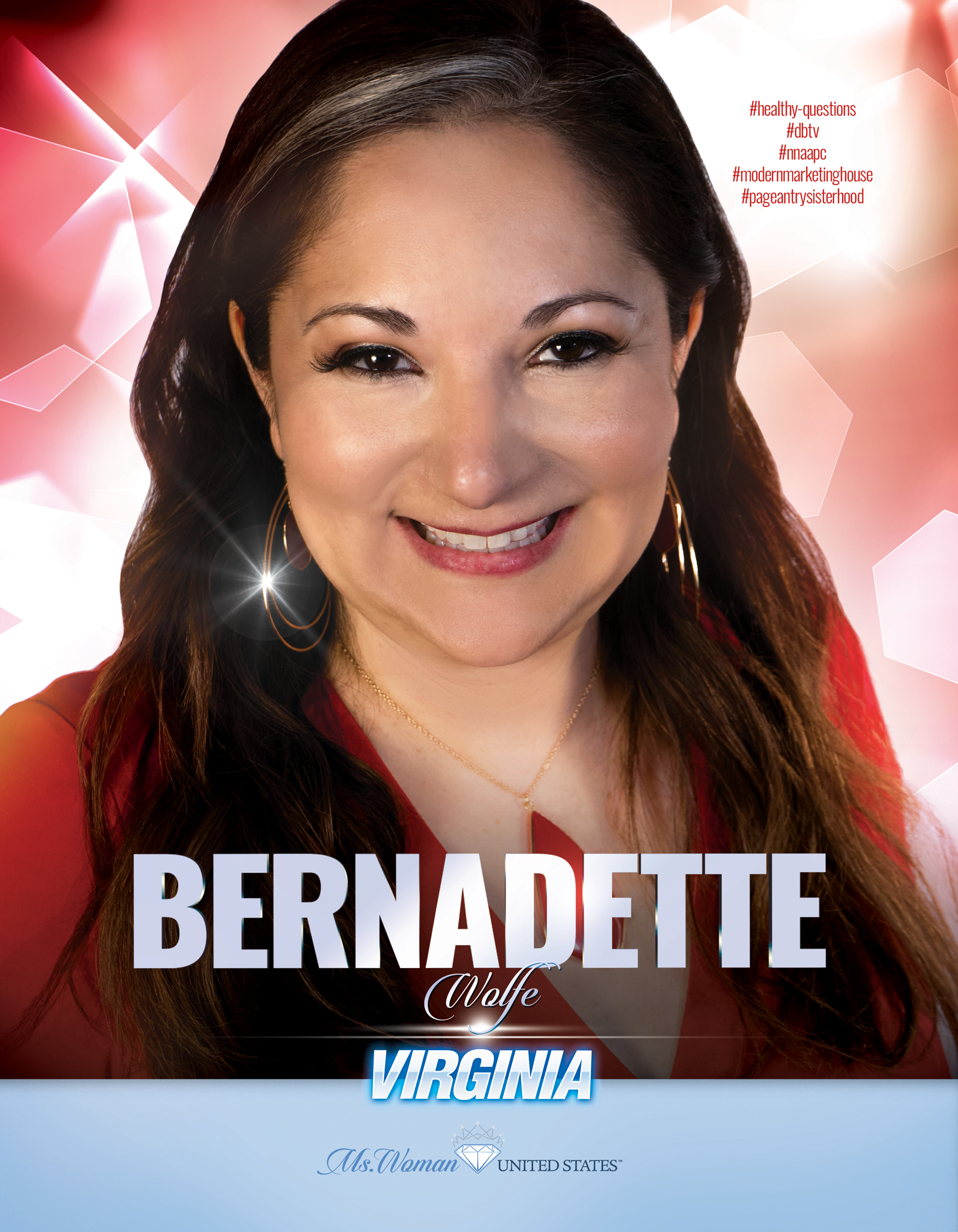Bernadette Wolfe Ms. Woman Virginia United States - 2019