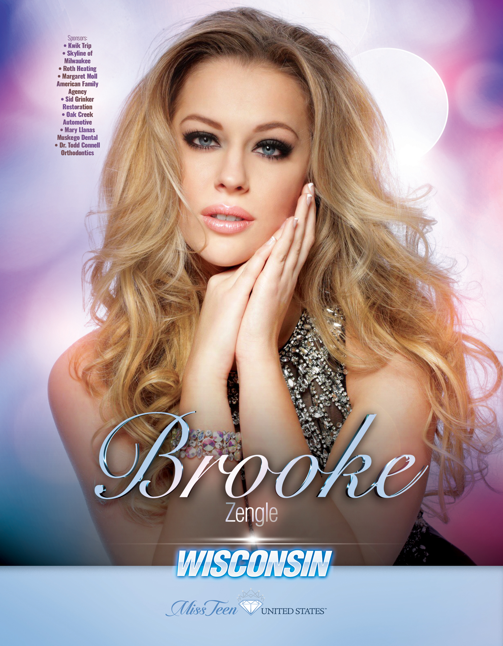 Brooke Zengle Miss Teen Wisconsin United States - 2019