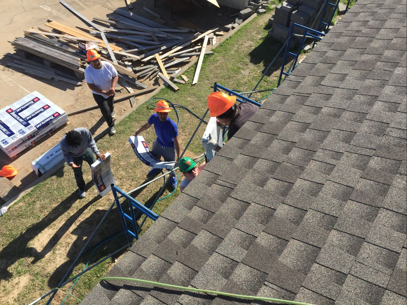 How Blue Nail Roofing Supports Habitat for Humanity