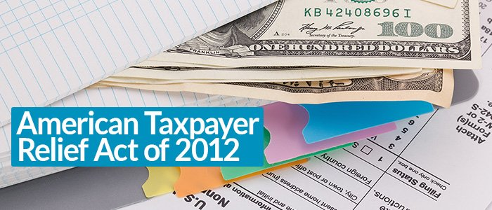 American Taxpayer Relief Act of 2012