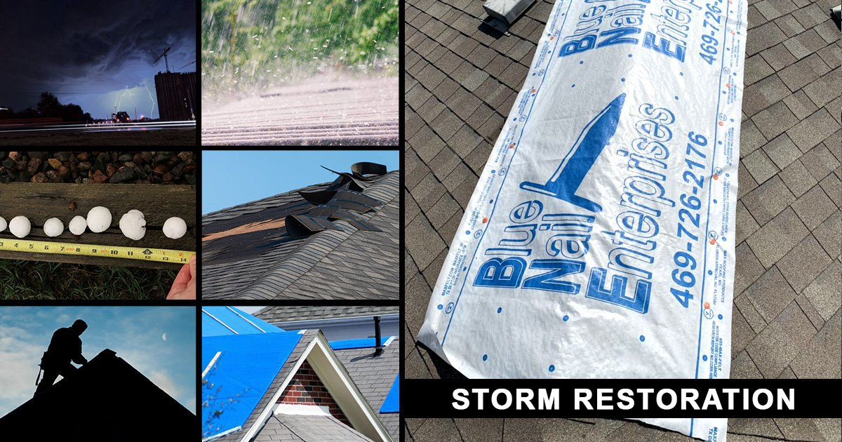 Residential Storm Restoration Services Dallas-Fort Worth TX