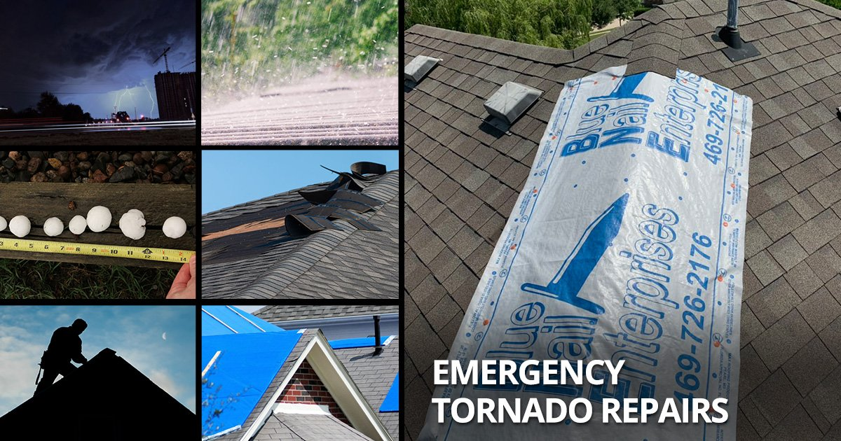 Emergency Repair Services After the Dallas TX October Tornadoes