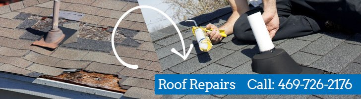 Damaged Roof Repair, Roofing Company Dallas TX