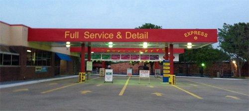 Gas Station Canopy Dallas TX