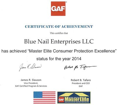Another Reason to Trust Blue Nail Roofers in Dallas TX