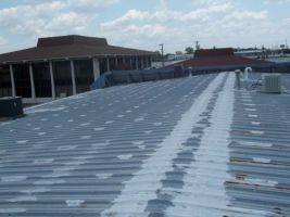 Metal commercial Roof repair Company