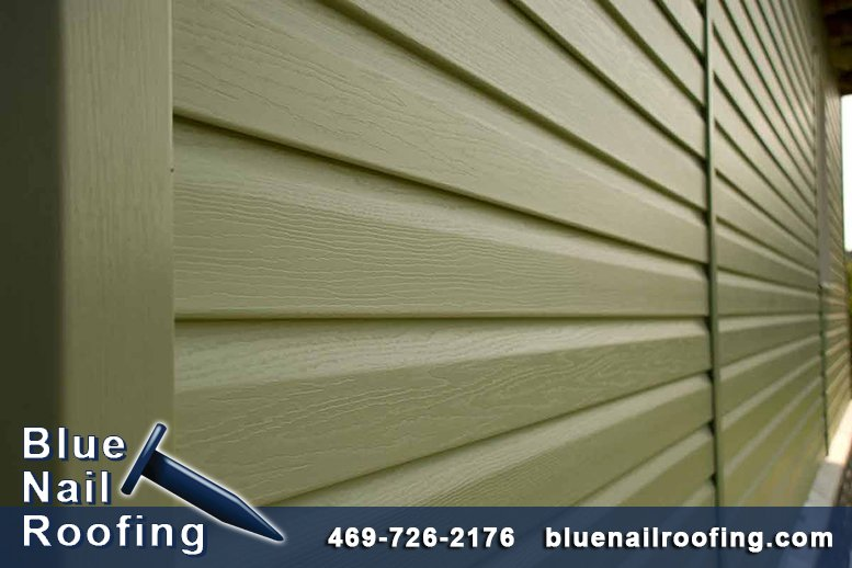 Project Recap of New Residential Vinyl Siding in Euless TX