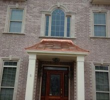 Copper Roof Installations