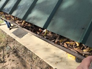 Clogged Gutter Dallas-Fort Worth TX