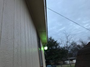 Newly Painted Soffit Dallas TX