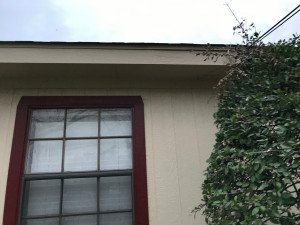 Freshly Painted Soffit and Fascia in Dallas TX