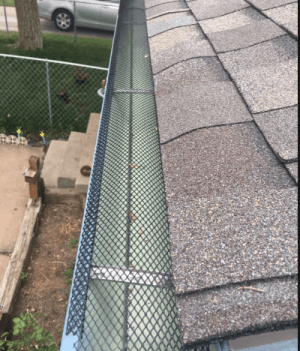 Screen Gutter Protection