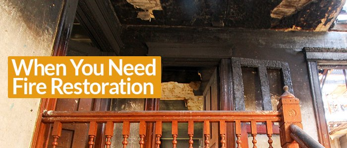 Fire Restoration Services in Dallas TX