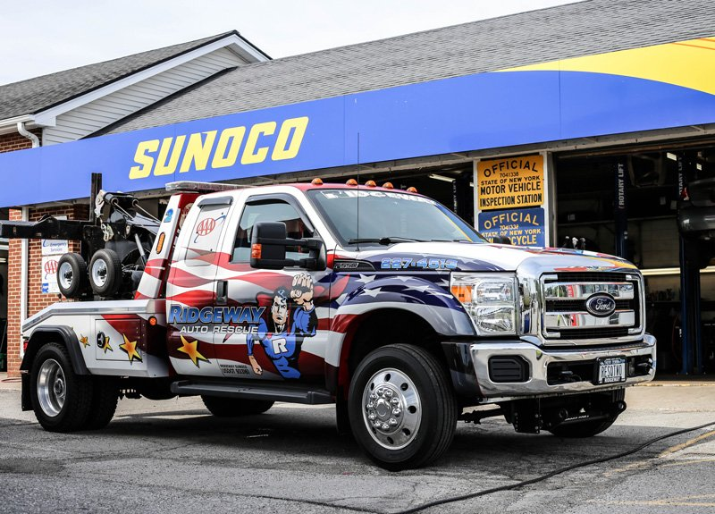 Ridgeway Auto Rescue Towing Truck Rochester NY