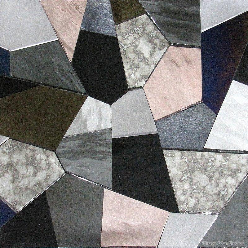 Geometric Chunky Mosaic