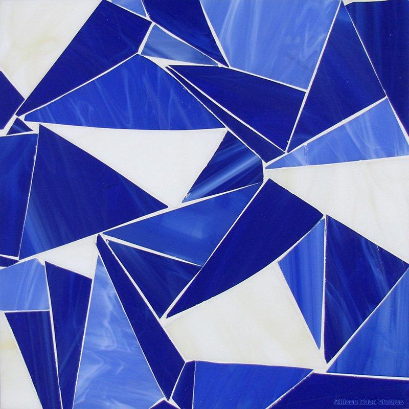 Blue & White SHATTERED