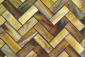 Chocolate Herringbone