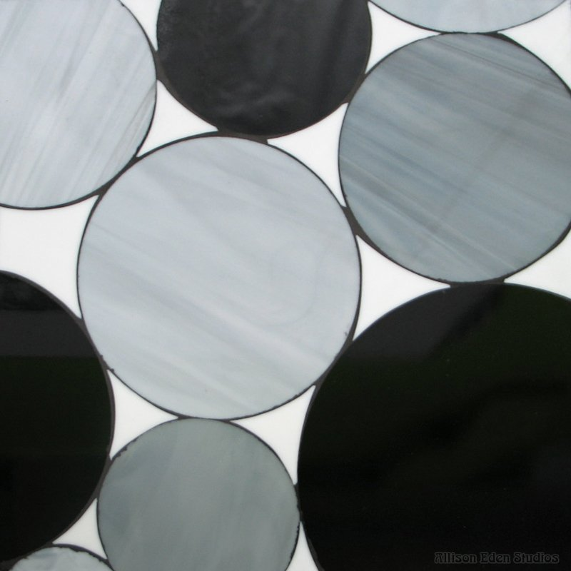 Circles With Glass In Between